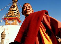 Буддийский монах